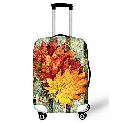 Suitcase Cover - Autumn Leaves: Comes in different Designs and Sizes
