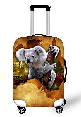 Suitcase Cover Spandex - Koala Image (Available in other designs)