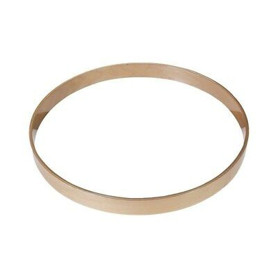 "NEW- Gibraltar 22"" Maple Bass Drum Hoop - NATURAL FINISH, #SC-22M"