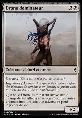Drone dominateur x4 La Bataille de Zendikar *CARTAPAPA* MAGIC MTG
