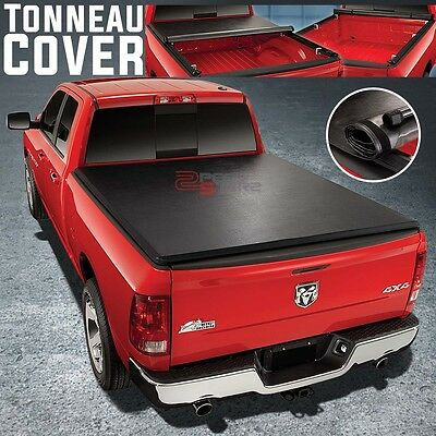 """Fast Lock&roll Vinyl Tonno Tonneau Cover For 05-15 Toyota Tacoma Truck 6'2"""" Bed"""