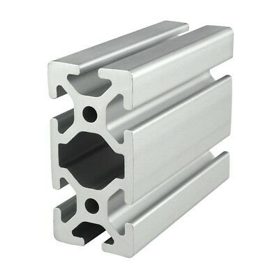 80/20 Inc T-Slot 40mm x 80mm Aluminum Extrusion 40 Series 40-4080 x 750mm N