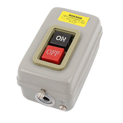 380V 7.5KW ON/OFF Button Control 3-Phase Latching Power Pushbutton Switch