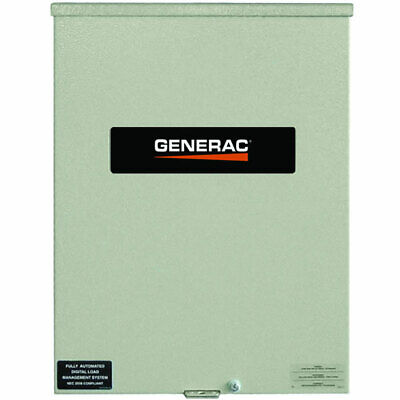 Generac 400-Amp Automatic Smart Transfer Switch w/ Power Management (Service ...