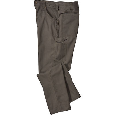 Gravel Gear Ripstop Carpenter Pant with Teflon - Moss, 36in Waist x 34in Inseam