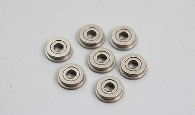 10PCS Metal Double Shielded Flange Bearing F682 F683 F684 F685 F686 F688 F689ZZ