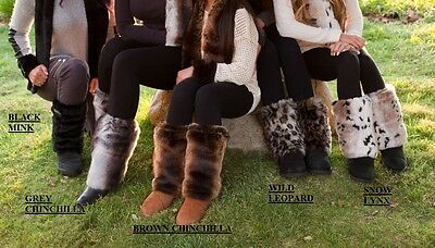 New CovFur Faux Fur Boot Shoe Covers Fashion Leg Warmers Winter Ugg Boots