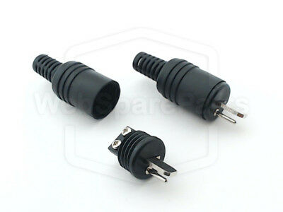 B&O Compatible *New* 2 PIN DIN Speaker Plugs Pair Screw Fitting