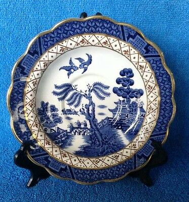 Booths Real Old Willow A8025 5 1/2 inch Saucer