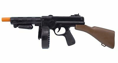 Tommy Gun Toy Plastic 20 Inch Gangster Gun Toy Machine Gun 18183 Thompson
