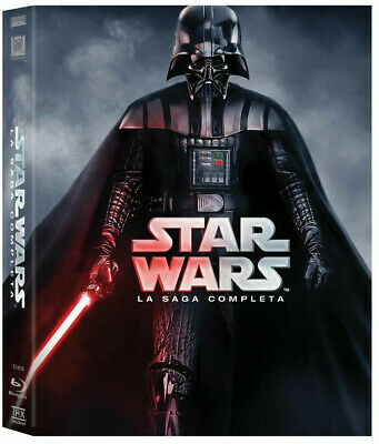 STAR WARS - La Saga Completa (9 BLU-RAY)  PREQUEL TRILOGY + ORIGINAL TRILOGY