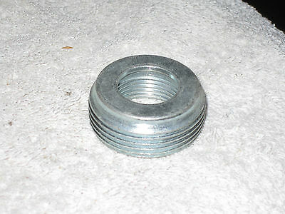 """1 1/4"""" To 3/4"""" Zinc Plated Steel Reducing Bushing  ***BY THE EACH**"""