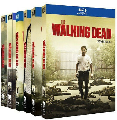 The Walking Dead Collection 1 - 6 (25 Blu-Ray) Cofanetti Singoli Serie Horror