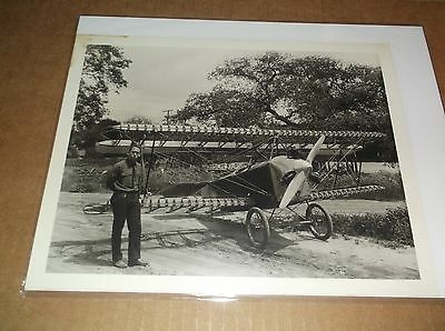Unknown  old airplane 8 x 10 photo, please help id *Look #1