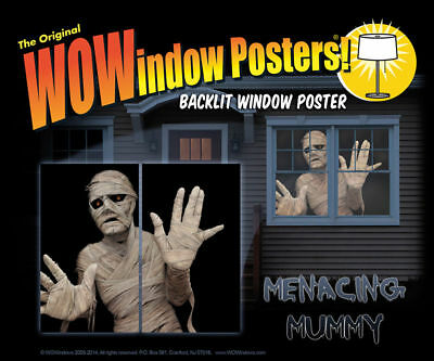 Morris Costumes Decorations & Props Mummy Wow Windows Wall & Furniture Covers