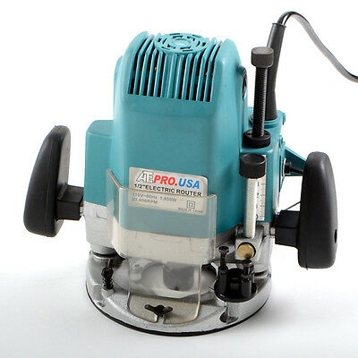"""1/2"""" Electric Router 15 Amp Motor Woodworking"""