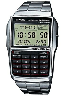 Casio DBC-32D-1A Wristwatch for men with database and calculator UK