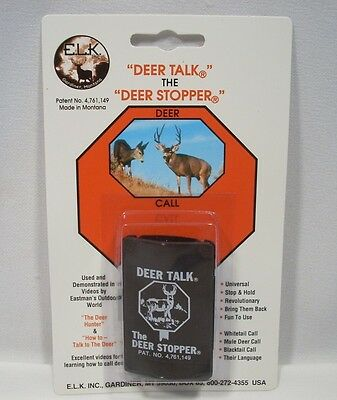 Whitetail Mule Blacktail Deer Talk Stopper Game Call Hunting Calling New