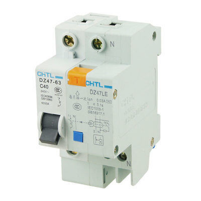 DZ47-63 C40 6000A Overload Protection Earth Leakage Circuit Breaker