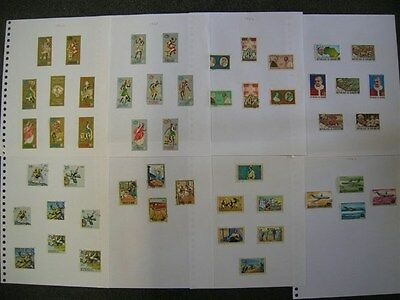 Burundi Small Used Collection On Album Pages (Id:c170)