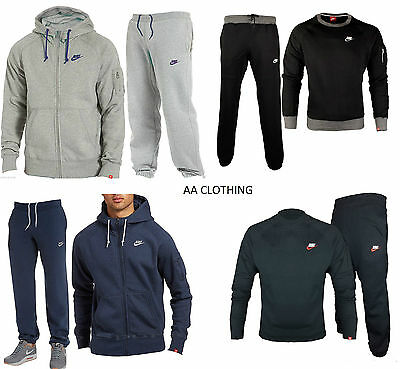 Details about MENS NIKE TRACKSUIT Full Zip Jogging Football