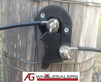 10 x CUT OUT ON OFF SWITCH FOR ELECTRIC FENCE WIRE ENERGISER