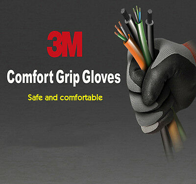 3M Nitrile Foam Coated Comfort Gloves for Electrical and Maintenance work