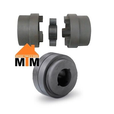 130 HRC Jaw Coupling 24 25 28 30 32 35 38 40 42mm 1 1/8 1 1/4 1 3/8 1 1/2 1 5/8""