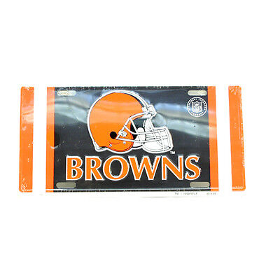 Cleveland Browns NFL Collectors Embossed Metal Number Plate
