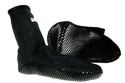 2mm wetsuit socks grippy sole Use alone OR INSIDE boots for extra WARMTH