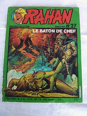 RAHAN Nouvelle Collection N°27 - Vaillant - Broché - 1982 - BEG