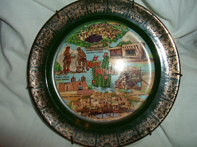 """NEW MEXICO PLATE  7 1/2""""  INCLUDES PLATE HANGER"""