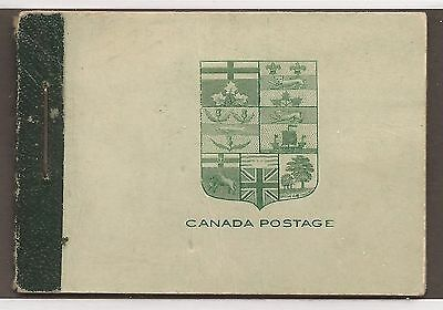 CANADA COMPLETE BOOKLET BK3c MINT