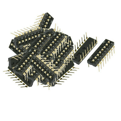 21 x Electronic Dual Rows 8 Ways Slide Type DIP Switch