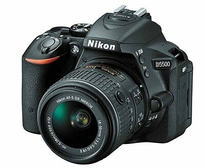 Nikon D5500 DSLR Camera nikkor af-s 18-55mm VR II f3.5-5.6 G Lens Fedex to USA