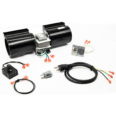 GFK-160 GFK-160A Fireplace Blower Fan Kit for Heat & Glo Quadra-Fire Fireplaces