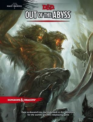 Dungeons & Dragons: Out of the Abyss (Hardcover) TRPG