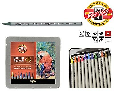 Aquarell Water Pastel PROGRESSO Woodless Pencil Set KOH-I-NOOR Colored 8786 8785