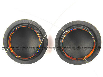 "2 pcs 25.4mm 25.5mm (1"") silk diaphragm dome Tweeters voice coil 8ohm"
