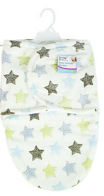 """First Steps"" Baby Swaddle Blanket Super Soft Great For Keeping Babies Warm"