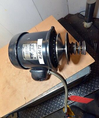 Sterling electric motors 5 hp motor model f 9506 1800 rpm for Bridgeport mill motor replacement
