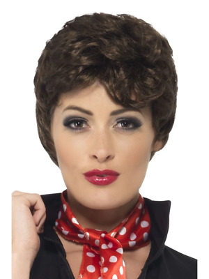 Adult Womens Rizzo Wig Grease Licensed Smiffys Fancy Dress Costume