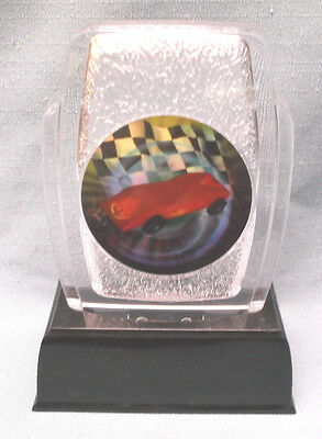 pinewood derby trophy full color insert cub scout fossil award