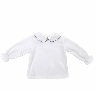 New toddler girls cotton collared skivvy long sleeve Tee tunic 3 -24 month