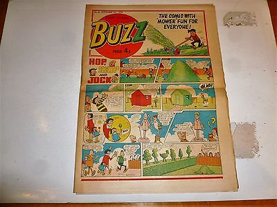 BUZZ Comic - No 86 - Date 07/09/1974 - UK Paper comic