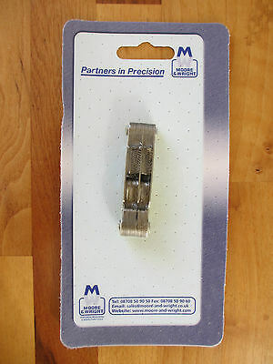 New MOORE & WRIGHT 804R - METRIC + IMPERIAL WHITWORTH THREAD PITCH GAUGE