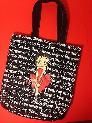 Betty Boop Tote Bag 2008 New Without Tags