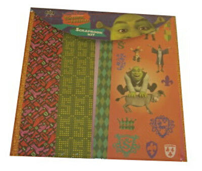 Shrek 3 Themed Scrapbooking Kit With Paper Stickers