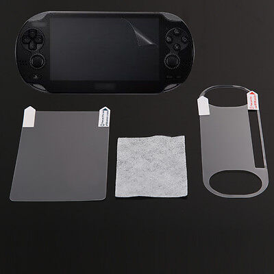 Clear Full Body LCD Front Back Screen Protector Guard for Sony PS Vita PSV2000