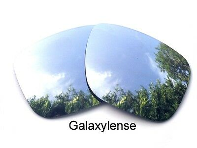 Galaxy Replacement Lenses For Oakley Holbrook Silver 100% UVAB Polarized!